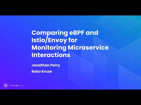 Comparing eBPF and Istio/Envoy for monitoring microservice interactions