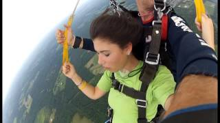 First time SKYDIVING!