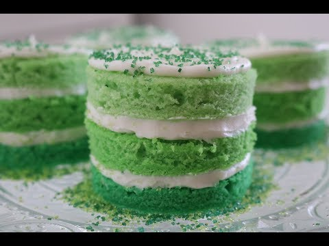 St. Patrick's Day Mini Cakes! | Baking With Josh & Ange