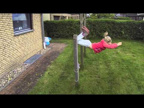 Die Gymnastik für die Korrektion der Haltung beim Kind