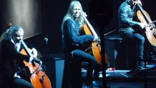 Apocalyptica - Sad But True (live, Warszawa)