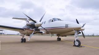 Making Texas Smaller: King Air 350 Facilitates Travel Throughout UT System