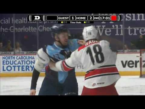 Kyle Hagel vs. Jamie Devane
