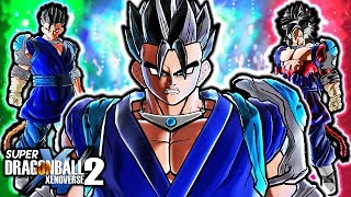 NEW DIMENSION GOHAN GUARDIAN! Dragon Ball Xenoverse 2 Gohan Dimension Guardian Gameplay (ALL CUSTOM)