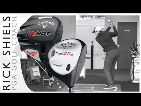 Callaway Golf Great Big Bertha (1997) Vs Callaway X Hot (2013) Driver