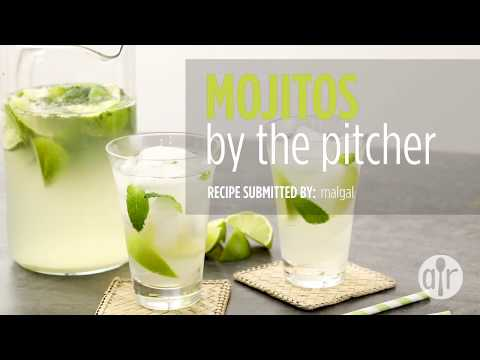How to Make Mojitos By The Pitcher | Drink Recipes | Allrecipes.com