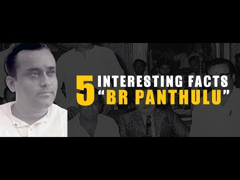 5 interesting facts about director B R Panthulu