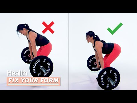 3 Common Deadlift Mistakes You're Probably Making | Fix Your Form | Health