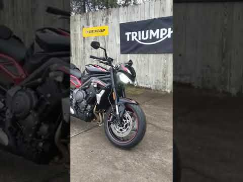 2021 Triumph Street Triple R in Charleston, South Carolina - Video 1