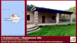 preview picture of video '2 Schlafzimmern 1 Badezimmer Villa zu verkaufen in Santa Maria Del Cami, Mallorca, Spain'