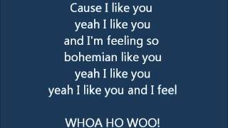 Dandy Warhols - Bohemian like you LYRICS