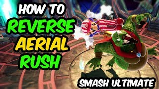 Smash Ultimate Advanced Tech:  Reverse Aerial Rush (RAR) Tutorial