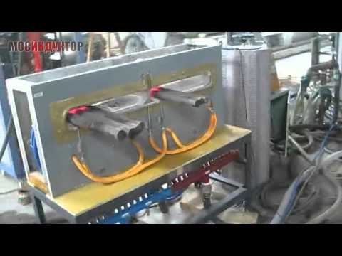 Индукционный кузнечный нагреватель щелевой ИКН-400