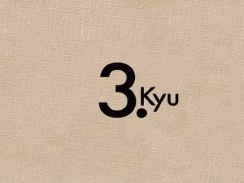 Kyu Prüfungsprogram - 3.Kyu