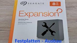 Seagate Expansion Festplatte - Gehäuse öffnen (GERMAN)