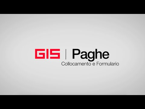 Preview video GIS Paghe - Collocamento e Formulario