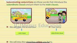 Subordinating Conjunctions | English Grammar | iken | ikenedu | ikenApp