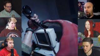 """""""Реакции Летсплейщиков"""" на Язык из Телефона в Outlast 2"""