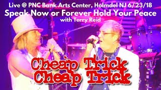 Cheap Trick - Speak Now or Forever Hold Your Peace w Terry Reid LIVE @ PNC Bank Arts Center