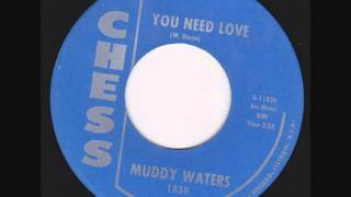 Muddy Waters - You Need Love