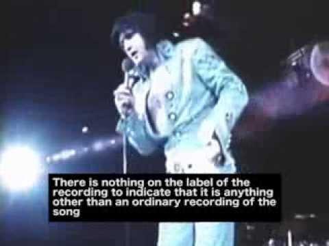 Da Elvis fikk latterkrampe på scenen og skapte en hit