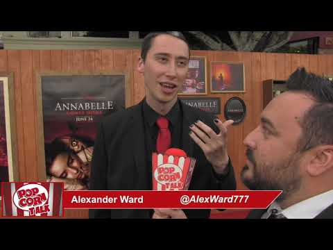 Popcorn Talk at the Annabelle Comes Home Red Carpet Premiere - Alexander Ward