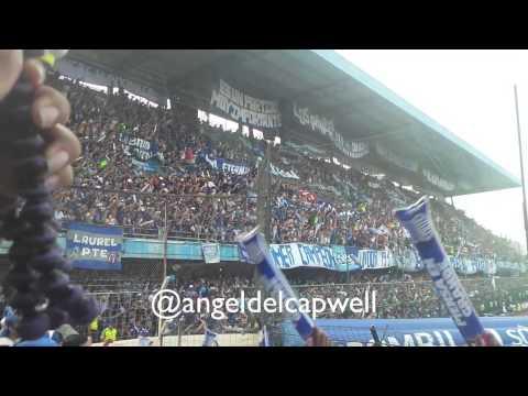 """LA BOCA DEL POZO EN LA FINAL DEL SIGLO 21-12-14"" Barra: Boca del Pozo • Club: Emelec"