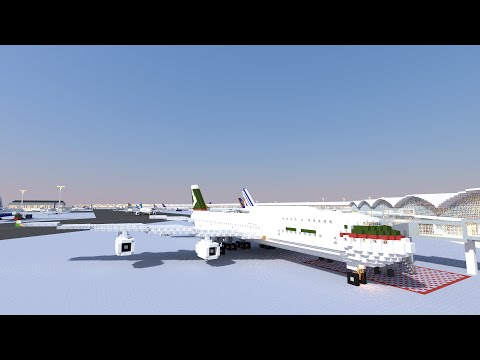 Boeing 747 400 Cathay Pacific Minecraft Project