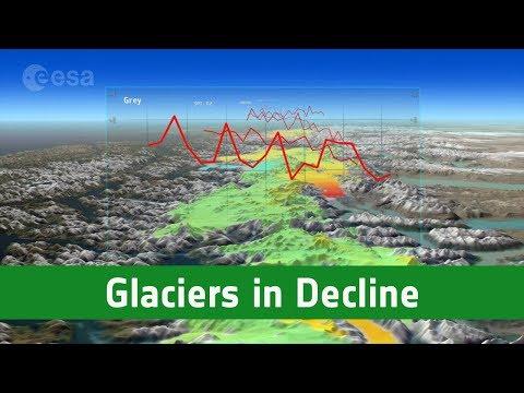 CryoSat kartlägger Patagoniens glaciärer