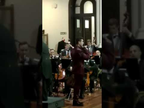 Un concierto a toda orquesta de los gendarmes por el 79 aniversario de la Federación de Instituciones. MIRA EL VIDEO