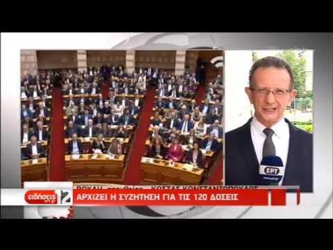 Εισάγεται στην ολομέλεια το σχέδιο νόμου για τις 120 δόσεις | 13/05/2019 | ΕΡΤ