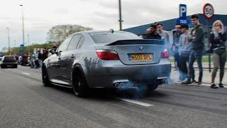 BMW E60 M5 Compilation | Sounds, Slides, wheelspins & accelerations