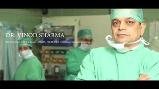 Symptom of Heart Attack (Hindi) : Dr. Vinod Sharma -top interventional cardiologist in india