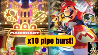 Mario Kart Tour #3--- My first pipe burst x10 opening!