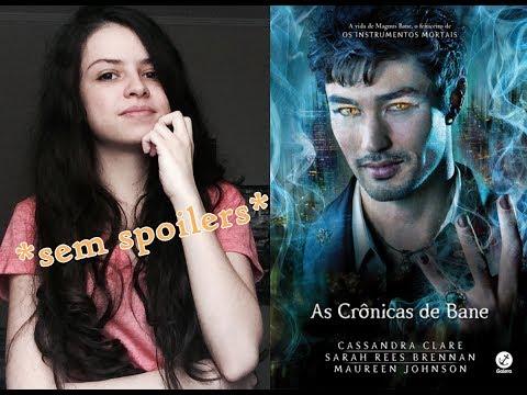 AS CRÔNICAS DE BANE, Cassandra Clare | RESENHA