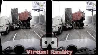 3D Car Crash Compilation 02 VR Virtual Reality Vídeo Google Cardboard VR Box