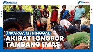Tujuh Warga Meninggal Dunia Akibat Longsor Tambang Emas di Solok Selatan