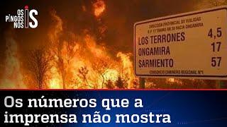 Argentina lidera ranking de queimadas no continente