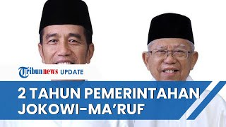 2 Tahun Jokowi & Ma'ruf, Duka Selama Pandemi hingga Relawan Beri Kritikan Dunia Politik Indonesia