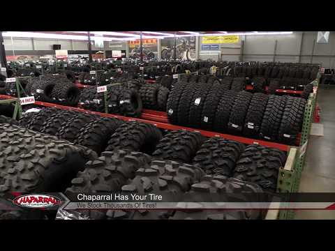 Take a Tour of the Chaparral Motorsports Tire Warehouse