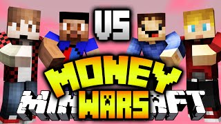 VIKK & MITCH vs ROB & LACHLAN! - (Minecraft MONEY WARS #14)