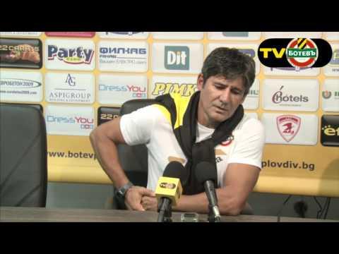 Николай Костов: Очаквам да се представяме по-добре с всеки изминал мач
