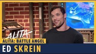 Ed Skrein talks 'Alita: Battle Angel'