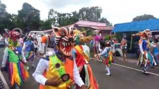 preview picture of video 'Danza del gran diablo infantil de La Chorrera'