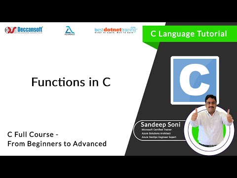 Introduction about Functions in C – C Programming language