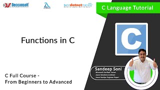 Introduction about Functions in C - C Programming language