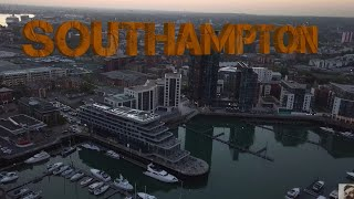 SOUTHAMPTON after sunset -Mavic Pro 4K