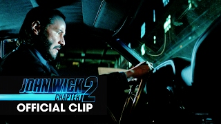 John Wick Chapter 2 2017 Movie Official Clip  Car Chase'