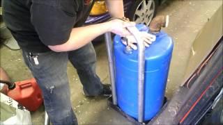 Home Made Fuel Transfer Tank Gasoline Petrol