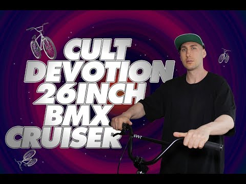 Cult  Devetion 26 BMX Cruiser. Unboxing, Bike Build & Review
